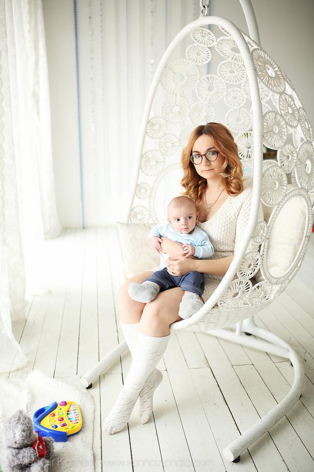 Фотосессия беременных в студии во владимире 21